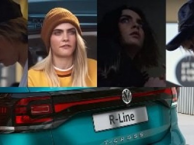 Cara Delevingne é a cara do VW T-Cross
