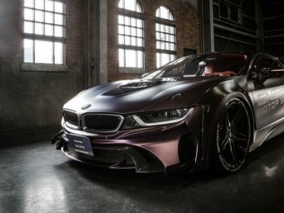 Dark Knight Edition: o BMW i8 à imagem de Batman!