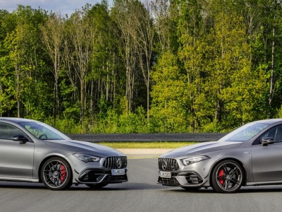 Mercedes-AMG A45 S e CLA 45 S tomam Goodwood de assalto